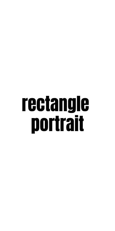 Rectangle portrait
